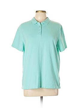Kim Rogers Short Sleeve Polo Size L