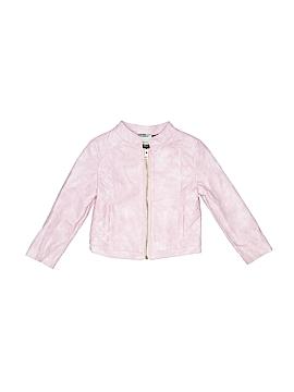 OshKosh B'gosh Faux Leather Jacket Size 3T