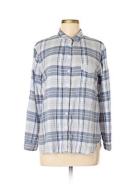 Stateside Long Sleeve Button-Down Shirt Size M