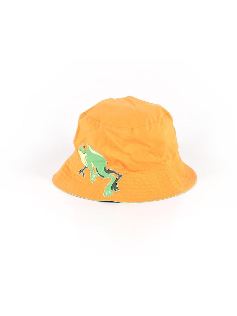 Baby Gap 100% Polyester Graphic Orange Sun Hat Size 6-12 mo - 40 ... e6013896560