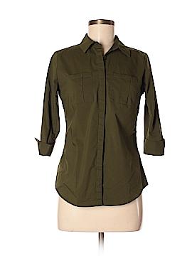 Worthington 3/4 Sleeve Button-Down Shirt Size S