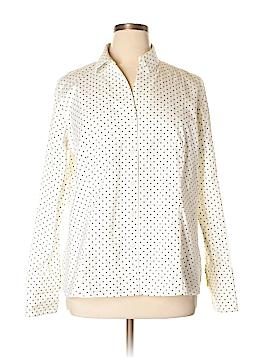 Jones New York Long Sleeve Button-Down Shirt Size 16