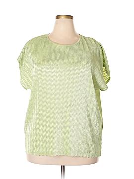 TanJay Short Sleeve Blouse Size 3X (Plus)