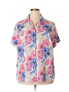 Alia Short Sleeve Blouse Size 18 (Plus)