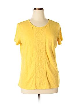 Laura Scott Short Sleeve Top Size XL
