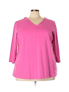 Jessica London 3/4 Sleeve T-Shirt Size 26 - 28 (Plus)