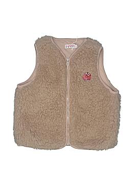 La Compagnie Des Petits Faux Fur Vest Size 10