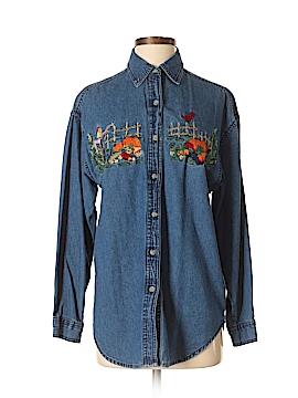 Westport Long Sleeve Button-Down Shirt Size S