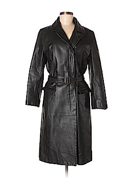 J. Crew Leather Jacket Size M