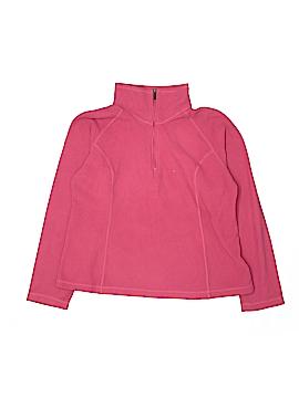 Lands' End Fleece Jacket Size 14