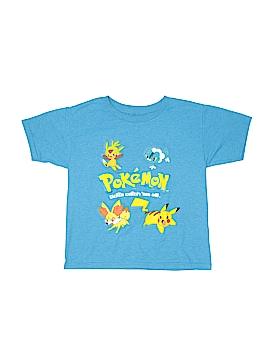 Pokemon Short Sleeve T-Shirt Size 6 - 7