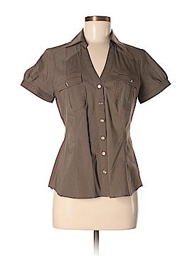 Express Short Sleeve Button-Down Shirt Size M