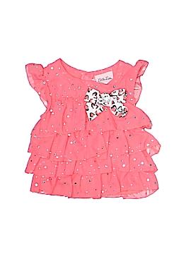 Little Lass Short Sleeve Blouse Size 12 mo