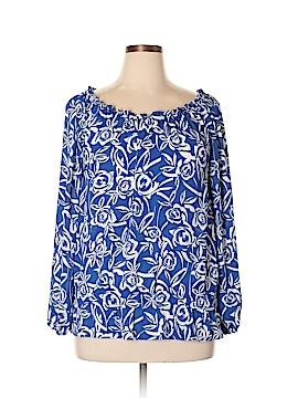 Chaus Long Sleeve Blouse Size L