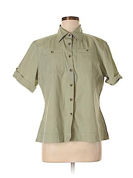 C.E. Schmidt Workwear Short Sleeve Button-Down Shirt Size L