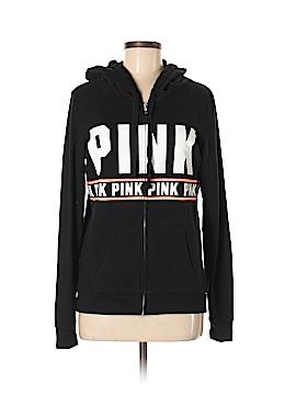 Victoria's Secret Pink Zip Up Hoodie Size S (Petite)