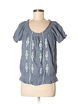 St. John's Bay Short Sleeve Blouse Size M