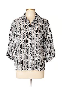 Draper's & Damon's 3/4 Sleeve Blouse Size XL (Petite)