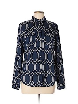 St. John's Bay Long Sleeve Button-Down Shirt Size M