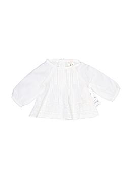 Genuine Baby From Osh Kosh Long Sleeve Blouse Newborn
