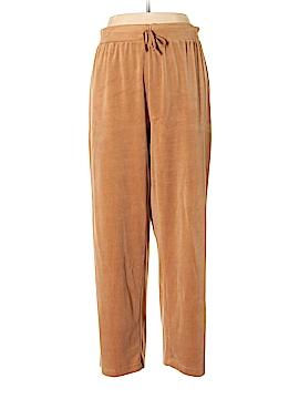 Kim Rogers Velour Pants Size 1X (Plus)