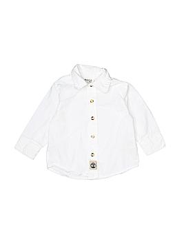 Timberland Short Sleeve Button-Down Shirt Size 12 mo