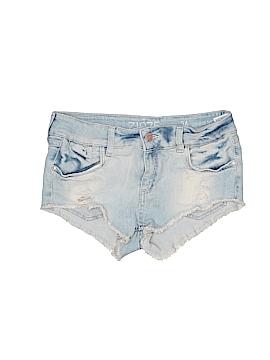 Zara Basic Denim Shorts 34 Waist