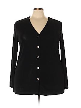 Liz Baker Cardigan Size 2X (Plus)