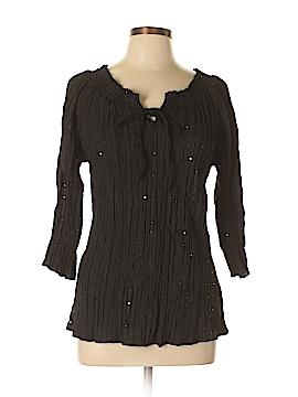 Harve Benard 3/4 Sleeve Blouse Size XL