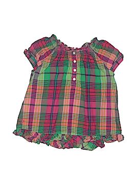 Ralph Lauren Short Sleeve Button-Down Shirt Size 24 mo