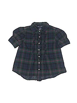 Ralph Lauren Short Sleeve Blouse Size 4T - 4