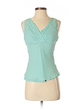 Kenneth Cole New York Sleeveless Silk Top Size 4