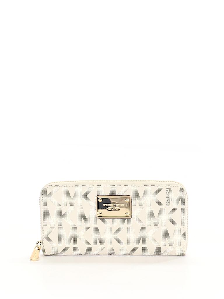 3ff2f28e155689 MICHAEL Michael Kors Print White Wallet One Size - 66% off | thredUP