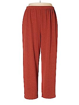Roaman's Velour Pants Size 18 (L) (Plus)