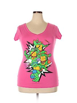Nickelodeon Short Sleeve T-Shirt Size 2X (Plus)