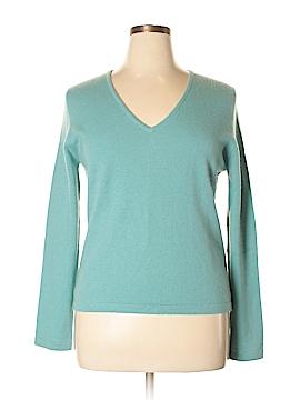 Yansi Fugel Cashmere Pullover Sweater Size XL