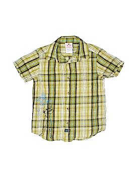 Disney Store Short Sleeve Button-Down Shirt Size 6