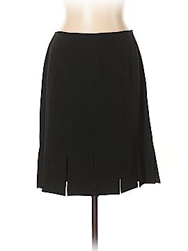 City Silk Casual Skirt Size 10