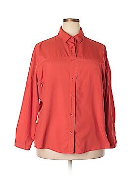 REI Long Sleeve Blouse Size 3X (Plus)