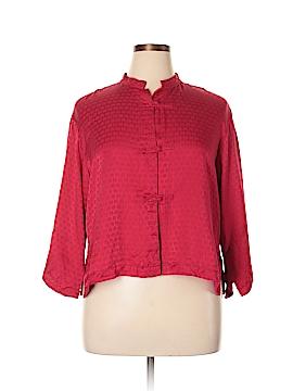 Natori Silk Cardigan Size L