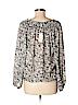 M.S.S.P. Women Long Sleeve Blouse Size L