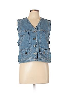 Liz Claiborne Denim Vest Size M
