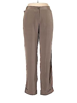 Faconnable Silk Pants Size 10