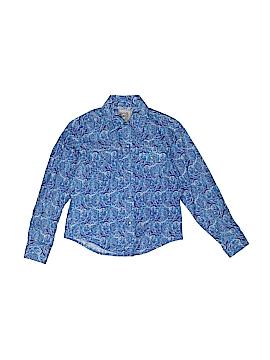 Cinch Long Sleeve Button-Down Shirt Size 4T