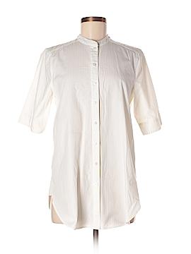 HD in Paris Short Sleeve Button-Down Shirt Size 6