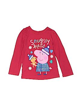 Peppa Pig Long Sleeve T-Shirt Size 2T