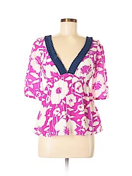 Yumi Kim Short Sleeve Silk Top Size S