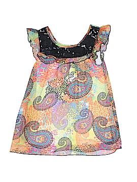 Pogo Club of NY Short Sleeve Blouse Size 14 - 16