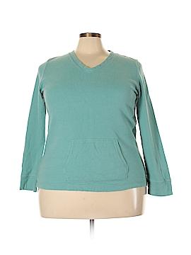 Lizwear by Liz Claiborne Sweatshirt Size XXL