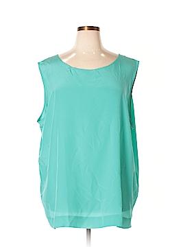 Diane von Furstenberg Sleeveless Silk Top Size 3X (Plus)